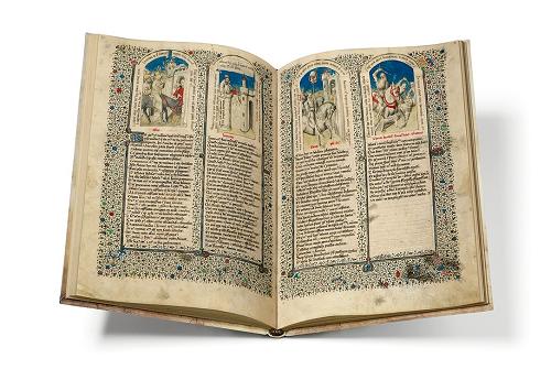 Heilsspiegel aus Kloster Einsiedeln, Faksimile, Edition, offener Band