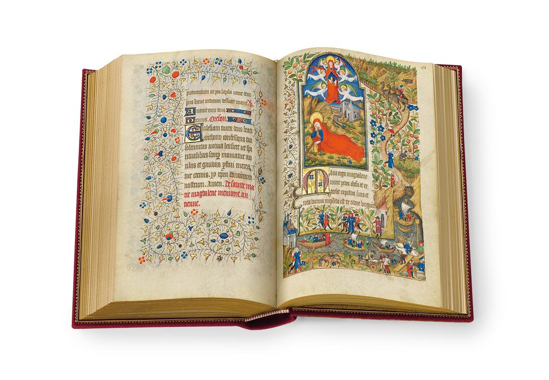 Stundenbuch der Margarete von Orléans, fol. 173v-174r