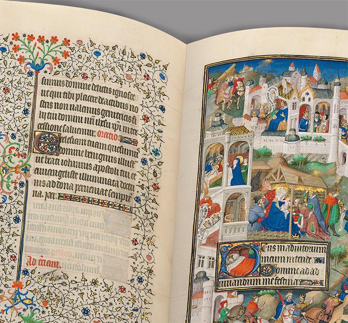 Erlebnis Buchmalerei (Sobieski-Stundenbuch) - Willkommen beim Quaternio Verlag Luzern!