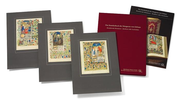 Stundenbuch der Margarete von Orléans, Faksimilemappe zur Edition