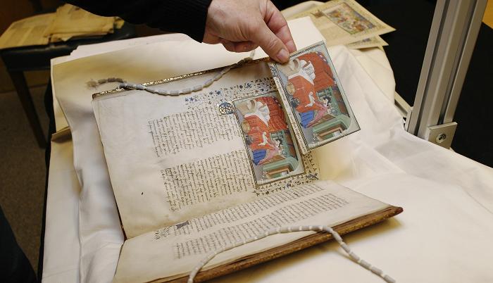 Pariser Alexanderroman, Vergleich von Andruck und Original