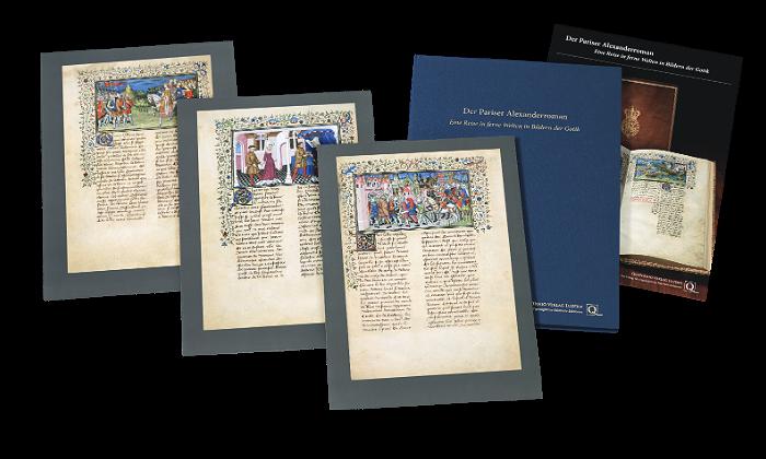 Pariser Alexanderroman, Faksimilemappe zur Edition