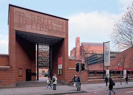 British Library, London - Partner des Quaternio Verlags Luzern
