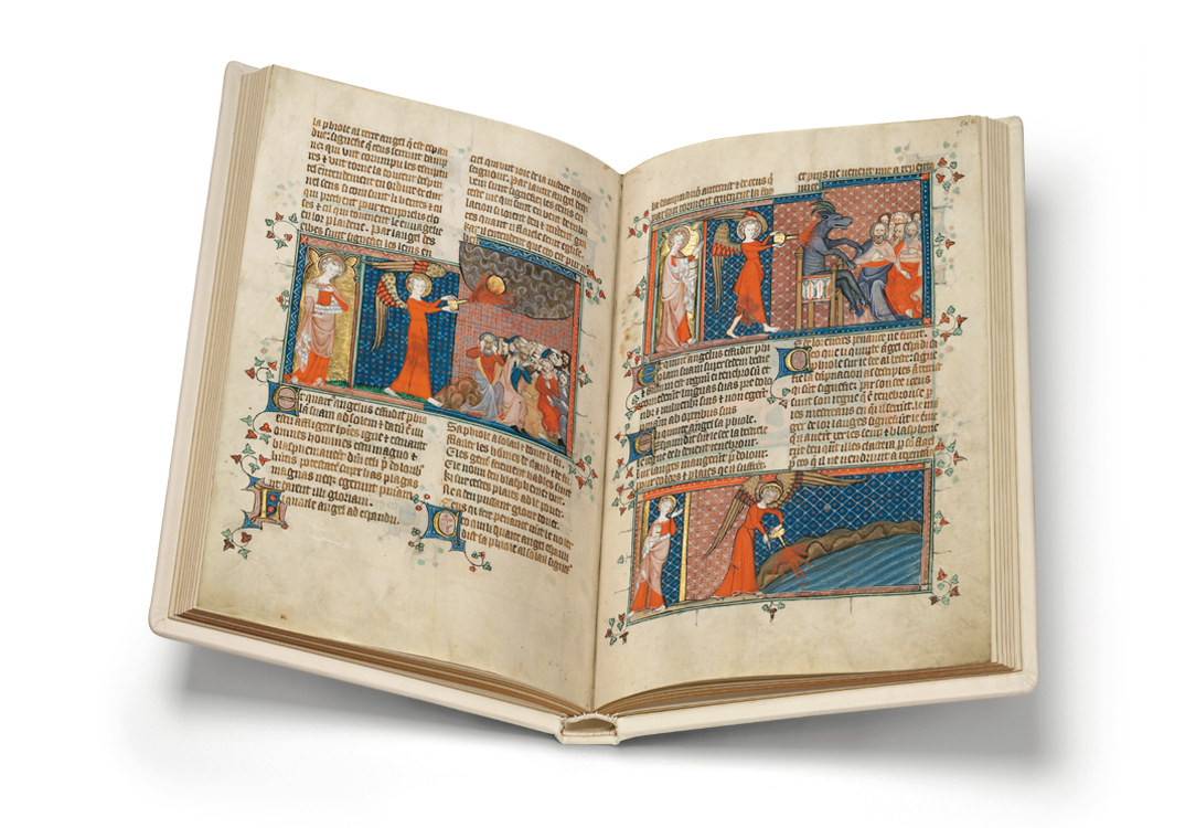 Corpus-Christi-Apokalypse, fol. 40v-41r