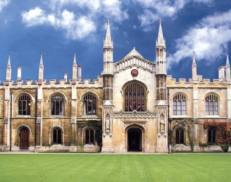 Corpus Christi College, Cambridge (UK) - Partner des Quaternio Verlags Luzern