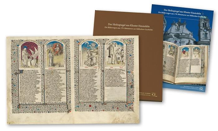 Heilsspiegel aus Kloster Einsiedeln, Faksimilemappe zur Edition