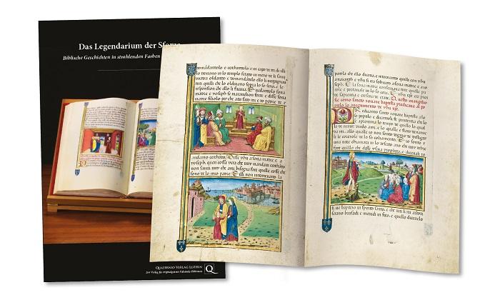 Legendarium der Sforza, Faksimilemappe zur Edition