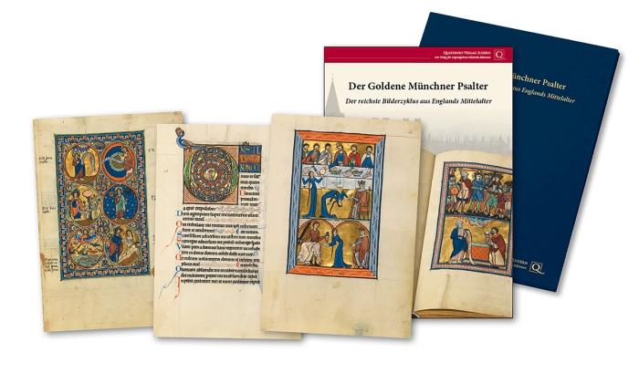 Goldener Münchner Psalter, Faksimilemappe zur Edition