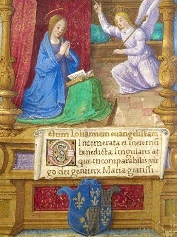 Wappen im Gebetbuch der Claude de France, fol. 18v