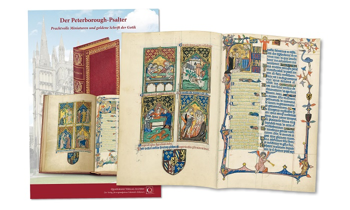 Peterborough-Psalter, Faksimilemappe zur Edition
