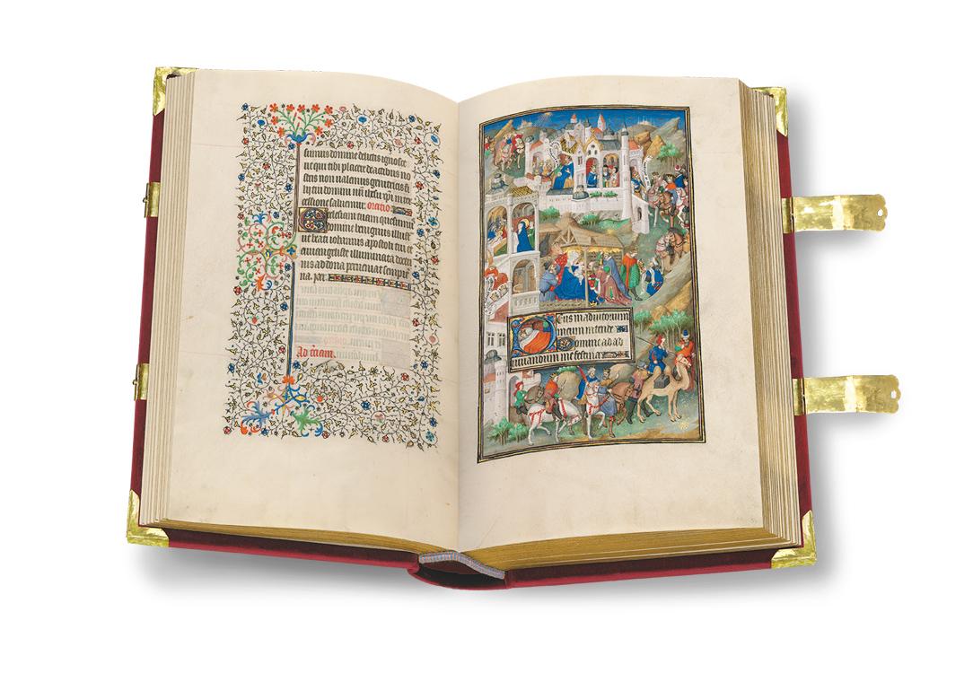 Sobieski-Stundenbuch, fol. 56v-57r