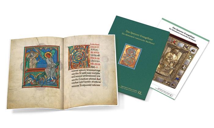 Speyerer Evangelistar, Faksimilemappe zur Edition