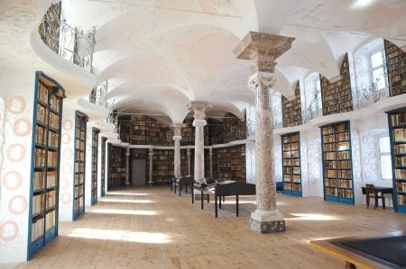 Stiftsbibliothek Kloster Einsiedeln - Partner des Quaternio Verlags Luzern