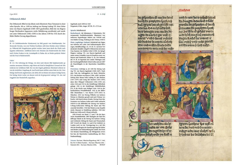 """Katalogband """"Bilderwelten"""", p. 46-47"""