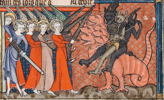 Corpus-Christi-Apokalypse, fol. 28r