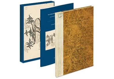 Kalligraphiebuch der Maria von Burgund - Kunstbücher aus dem Quaternio Verlag Luzern