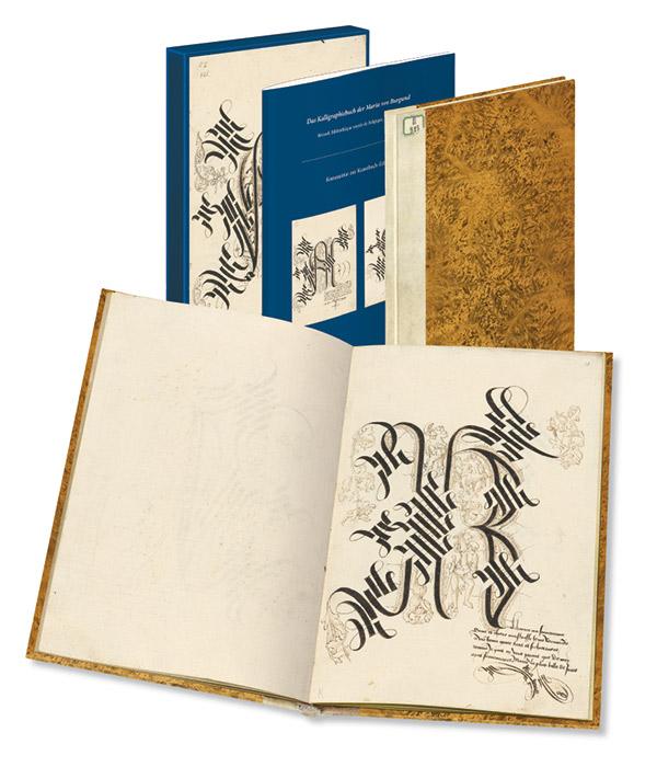 Kunstbuch-Edition: Kalligraphiebuch der Maria von Burgund