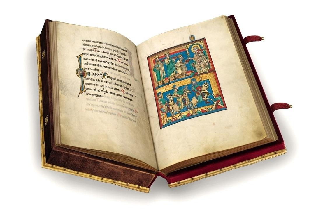 Speyerer Evangelistar, fol. 10v-11r
