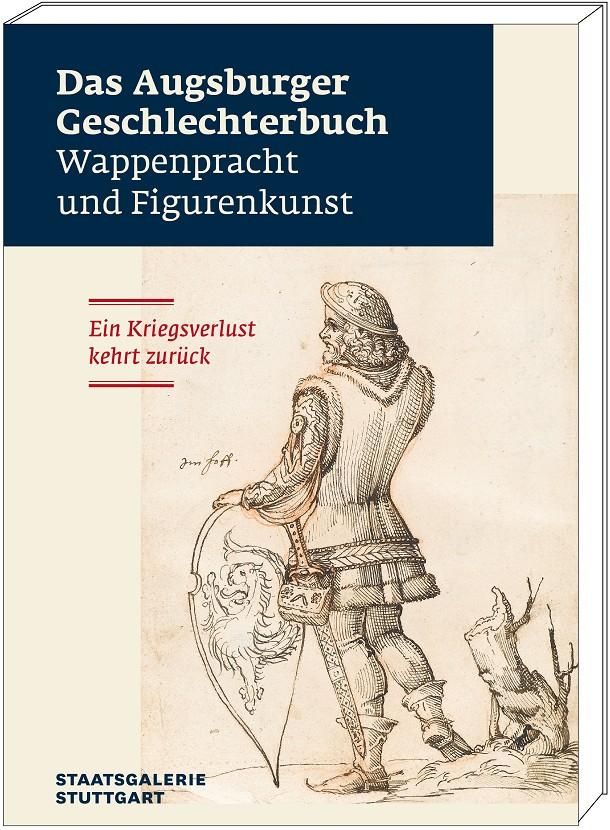 """Katalogband """"Augsburger Geschlechterbuch"""", Grafik mit Cover"""