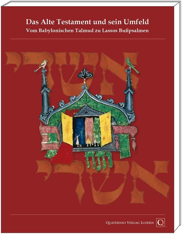 """Katalogband """"Das Alte Testament und sein Umfeld"""", Grafik mit Cover"""