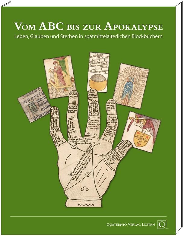 "Katalogband ""Vom ABC bis zur Apokalypse"", Grafik mit Cover"