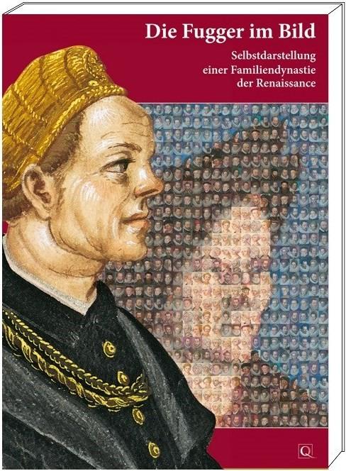 "Katalogband ""Die Fugger im Bild"", Grafik mit Cover"