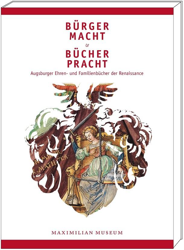 "Katalogband ""Bürgermacht & Bücherpracht"", Grafik mit Cover"
