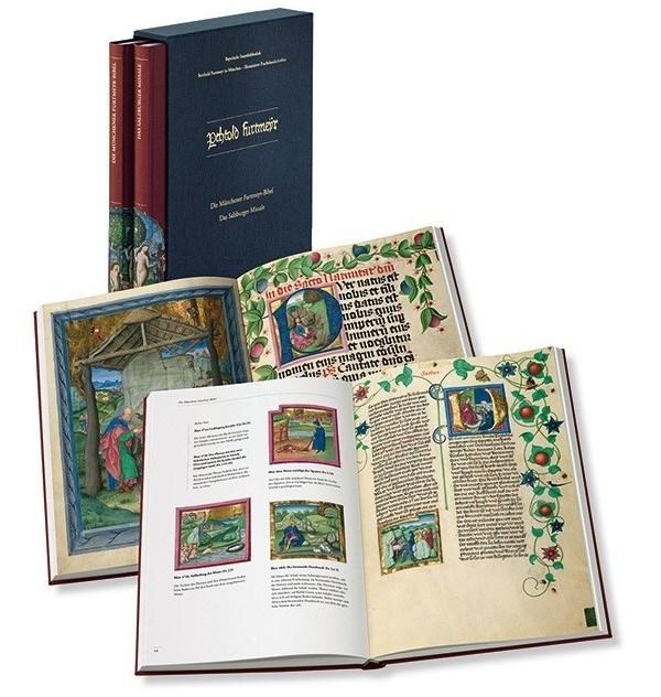 Kunstbuch-Edition: Berthold Furtmeyr in München - Illuminierte Prachthandschriften