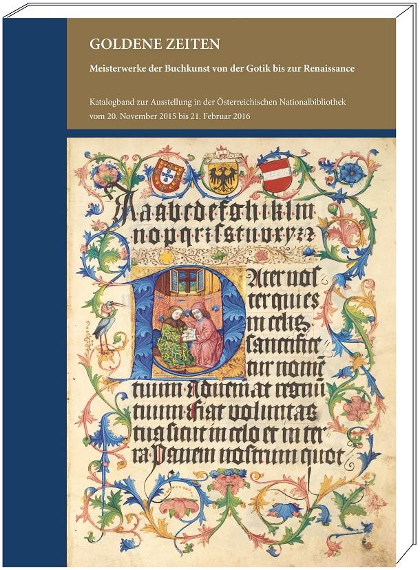 "Katalogband ""Goldene Zeiten"", Grafik mit Cover"