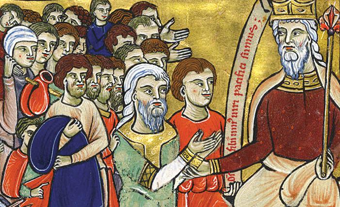 Goldener Münchner Psalter, fol. 16v