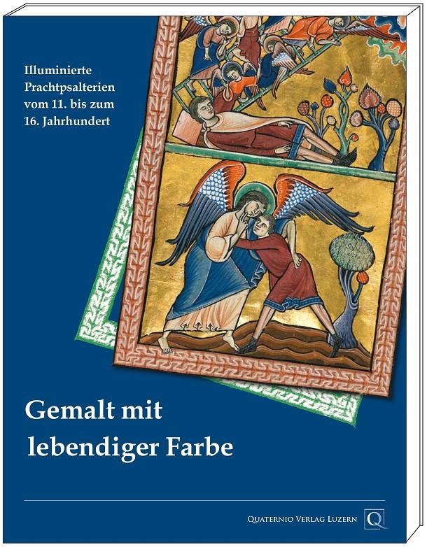 "Katalogband ""Gemalt mit lebendiger Farbe"", Grafik mit Cover"