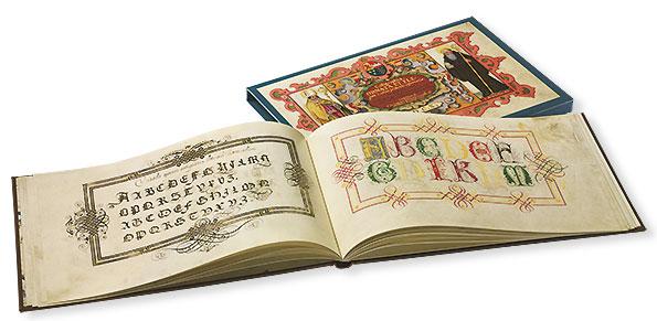 Kunstbuch-Edition: Kalligraphiebuch von Johann Caspar Winterlin