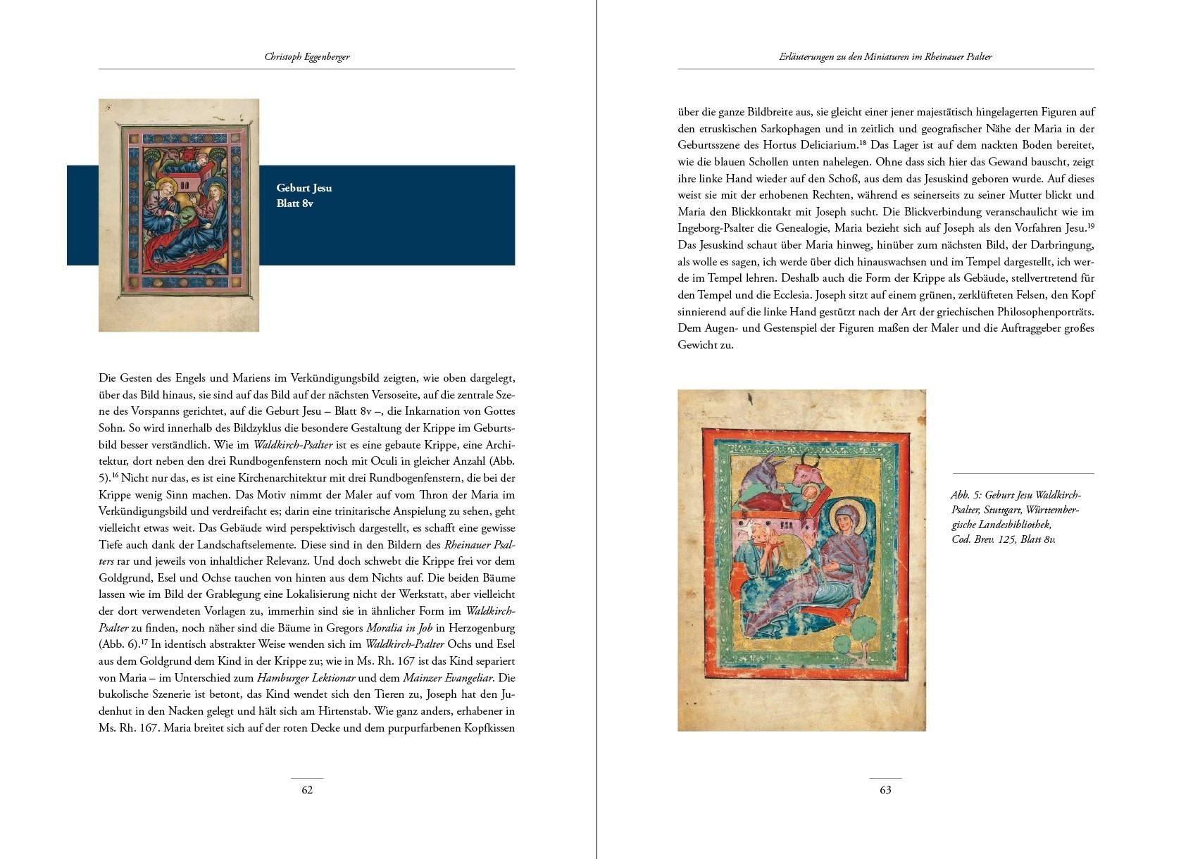 Rheinauer Psalter, Kunstbuch-Edition, p. 62-63