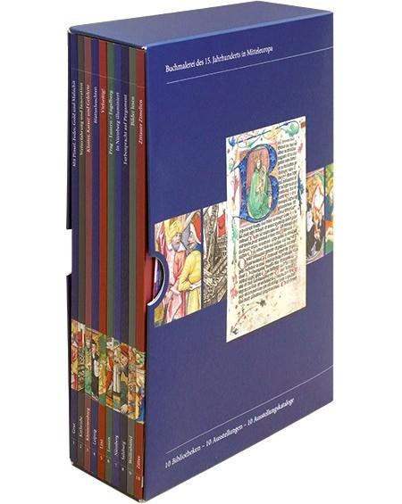 Katalogschuber zur Buchmalerei in Mitteleuropa im 15. Jahrhundert