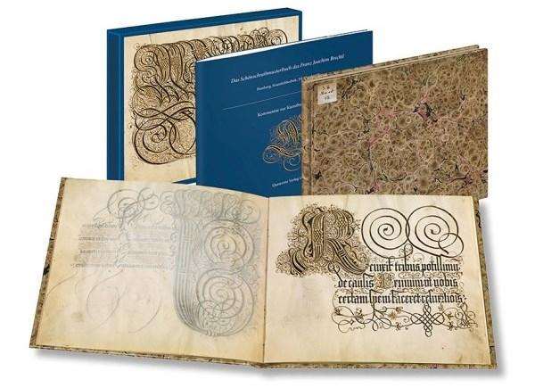 Kunstbuch-Edition: Schreibmeisterbuch des Franz Joachim Brechtel
