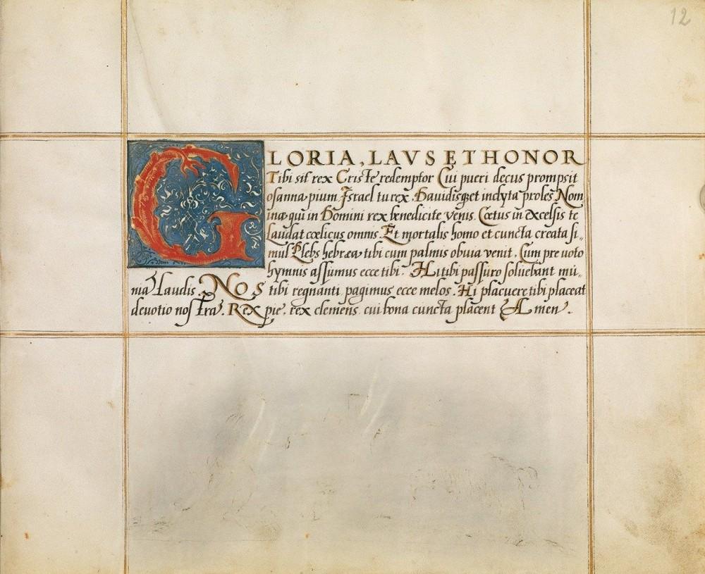 Schreibmeisterbuch des Franz Joachim Brechtel, p. 27: Schriftprobe Kursive