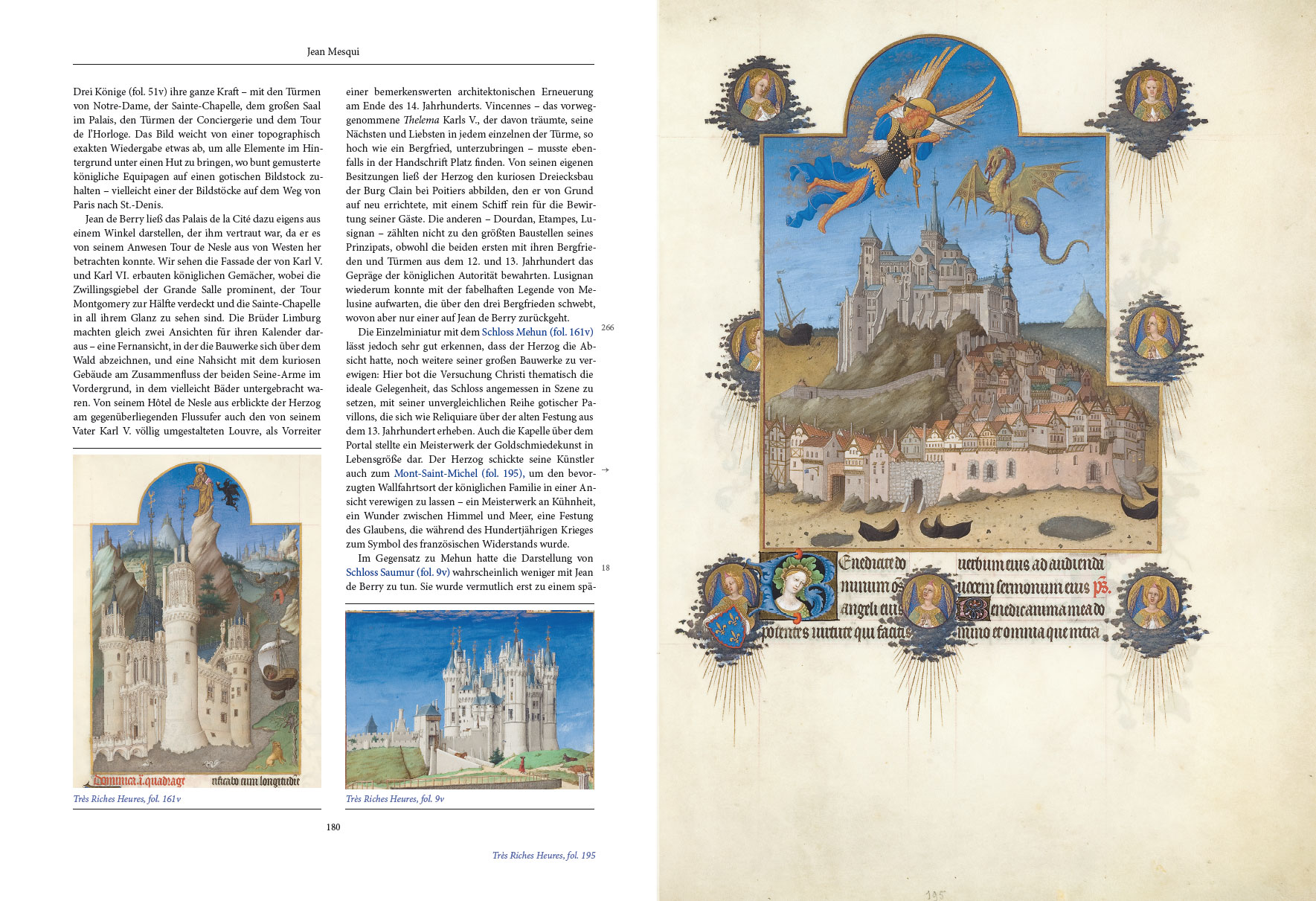 Kunstbuch-Edition der Très Riches Heures, p. 180-181