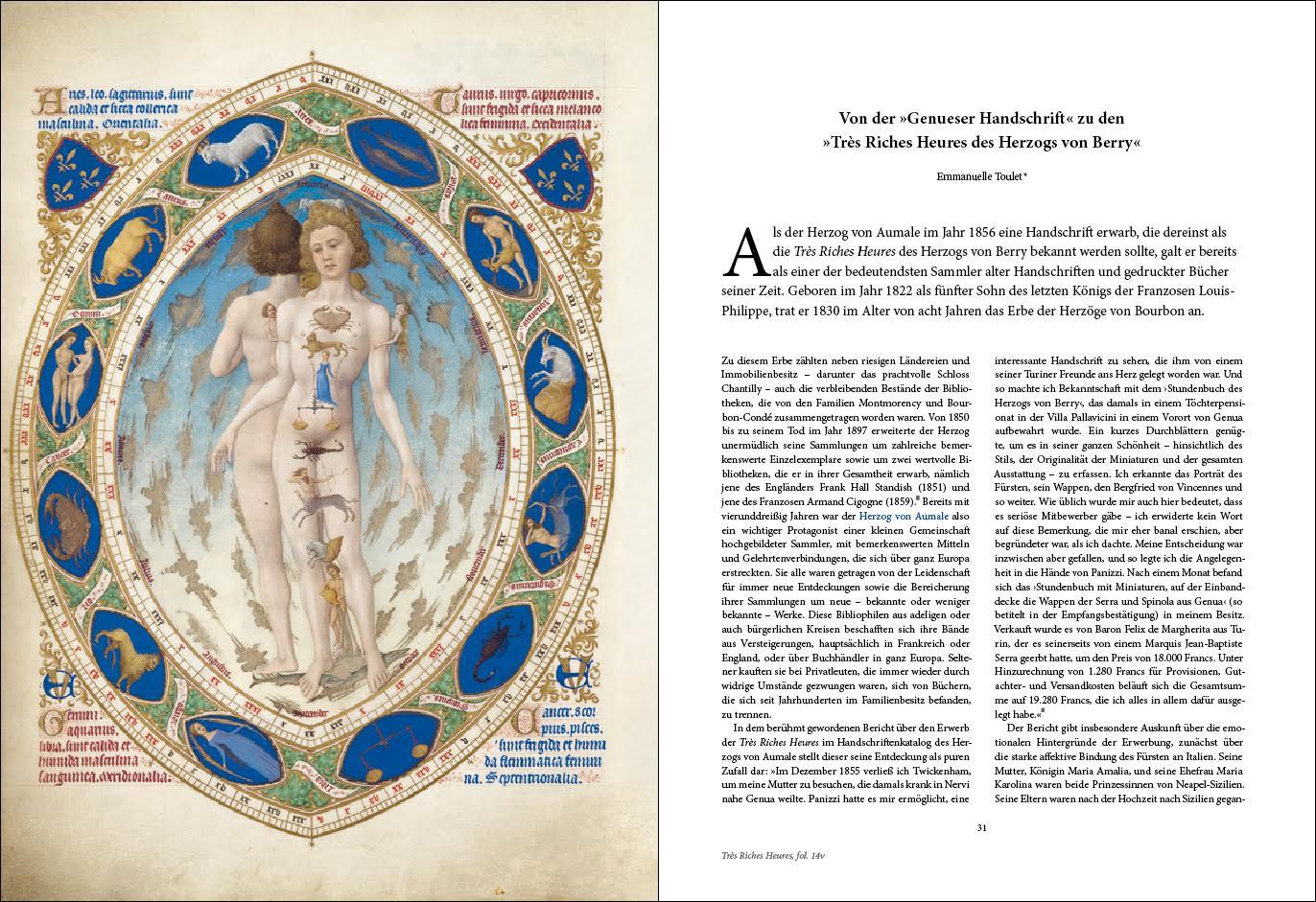 Kunstbuch-Edition der Très Riches Heures, p. 30-31