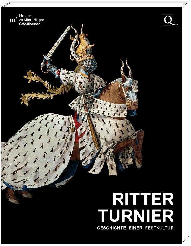 """Katalogband """"Ritterturnier"""", Grafik mit Cover"""