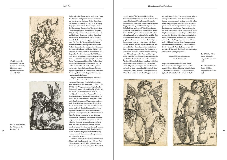 """Katalogband """"Das Augsburger Geschlechterbuch"""", p. 38-39"""