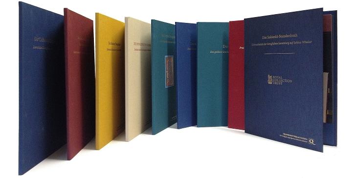 Faksimilemappen aus dem Quaternio Verlag Luzern