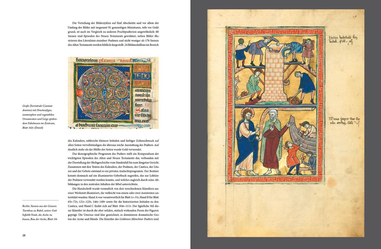 "Katalogband ""Gemalt mit lebendiger Farbe"", p. 28-29"