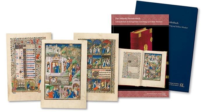 Faksimilemappe zur Edition des Sobieski-Stundenbuchs - Faksimilemappen aus dem Quaternio Verlag Luzern