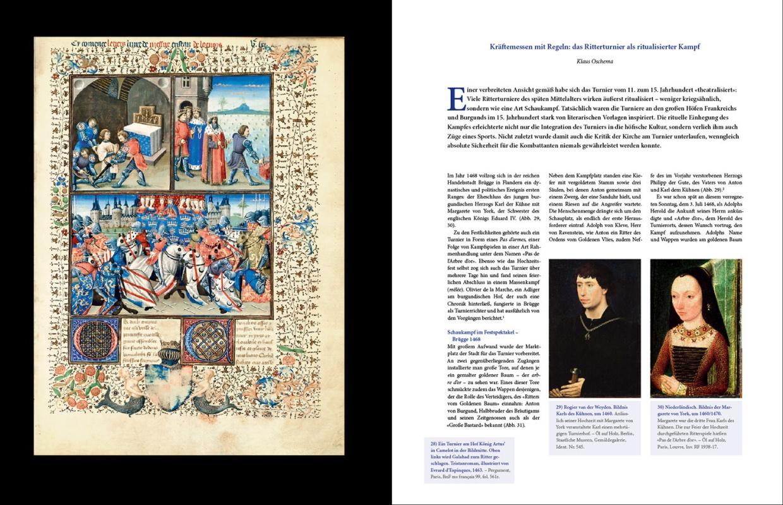 "Katalogband ""Ritterturnier"", p. 34-35"