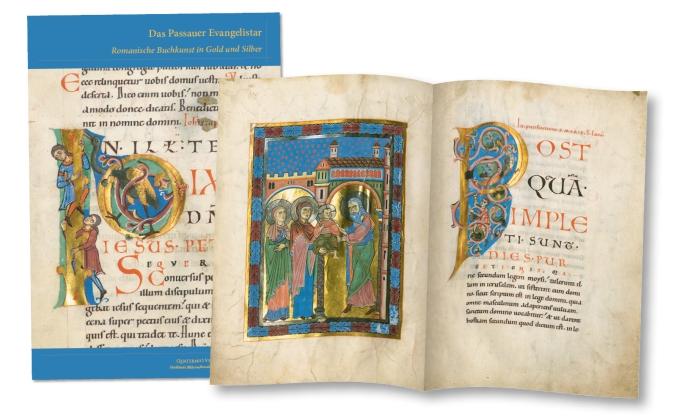 Passauer Evangelistar, Faksimilemappe zur Edition