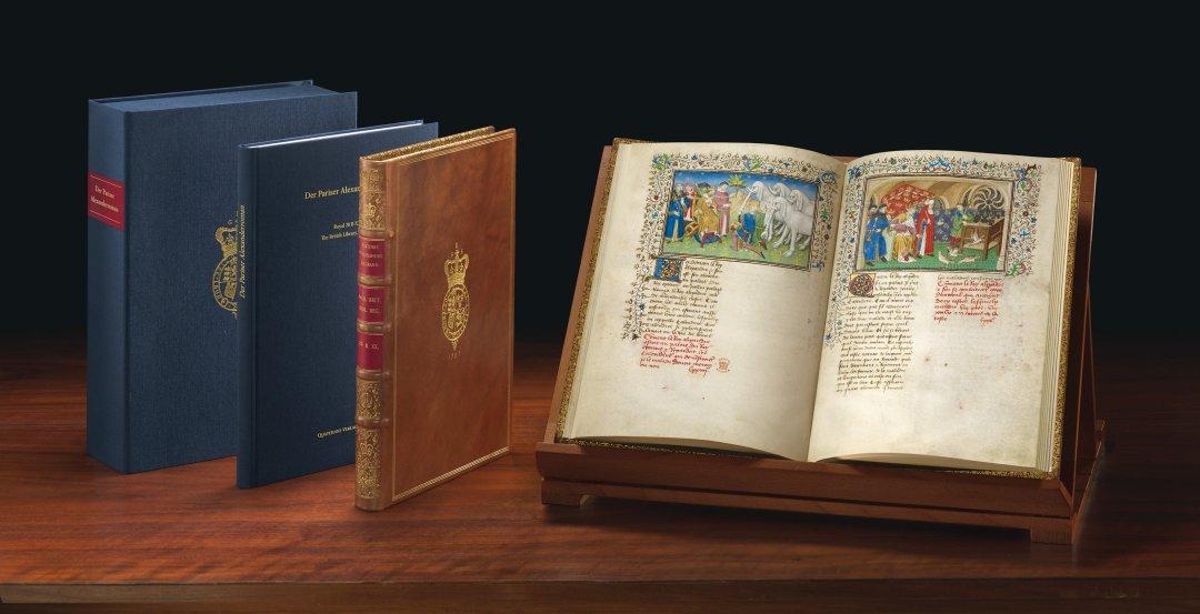 Willkommen beim Quaternio Verlag Luzern! - Faksimile-Edition des Pariser Alexanderromans