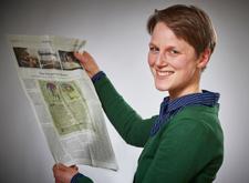 Annika Schwald - Über uns - Mitarbeiterin beim Quaternio Verlag Luzern