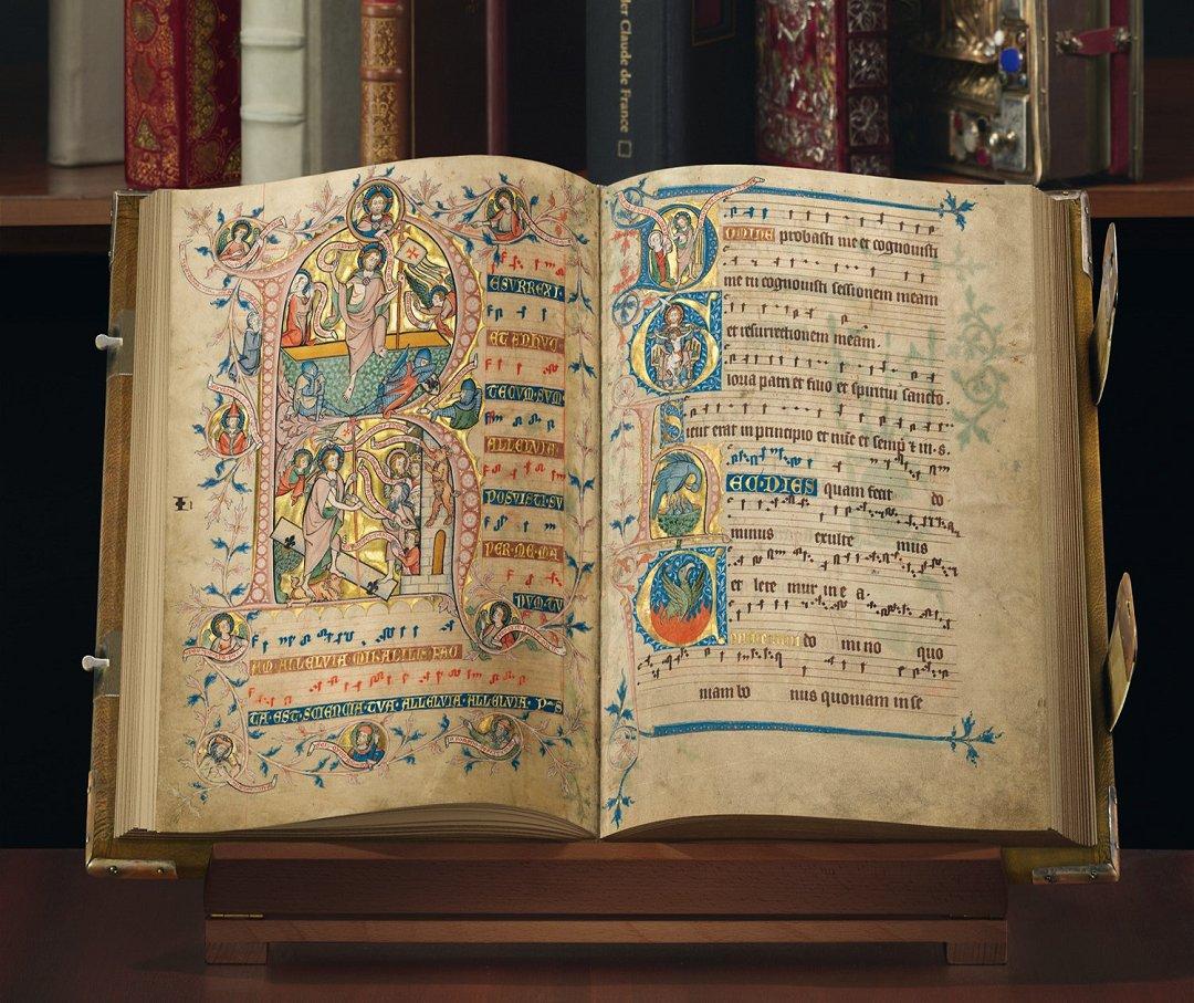 Willkommen beim Quaternio Verlag Luzern! - Faksimile-Edition des Codex Gisle