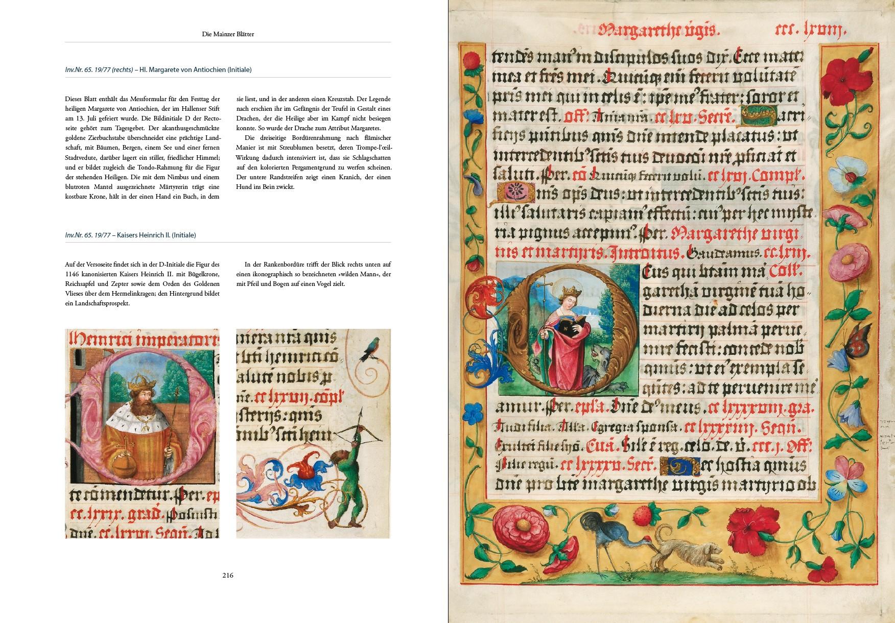 Missale Albrechts von Brandenburg, Kunstbuch-Edition, p. 216-217