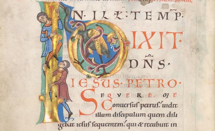 Passauer Evangelistar, fol. 6v